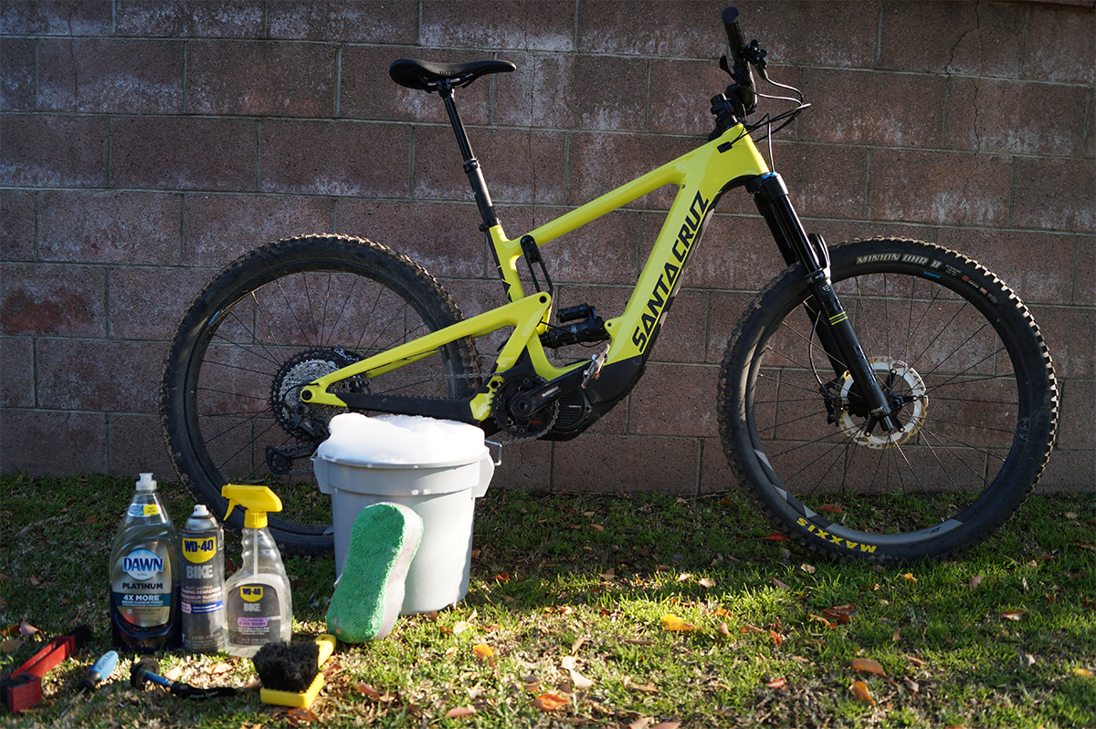 Washing your Shimano STEPS e-bike