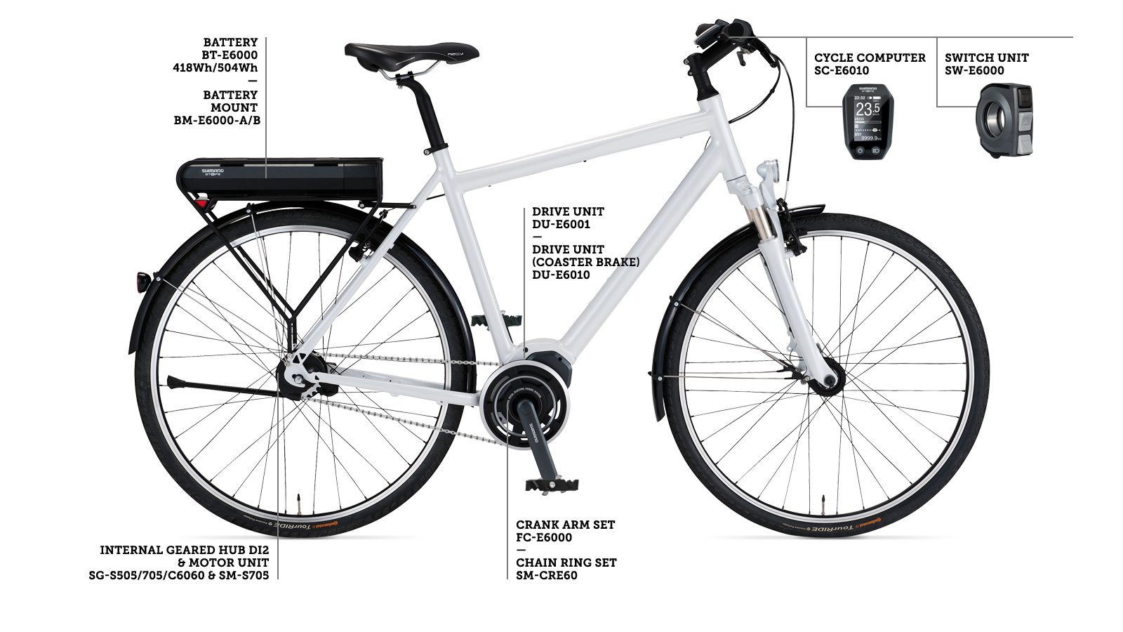 SHIMANO STEPS e-bike system - Fully enjoy nature